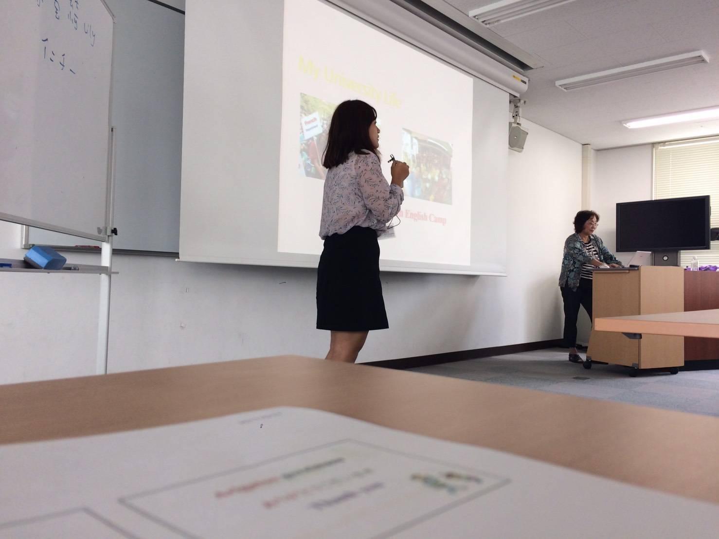 實習學生擔任英文課程助教